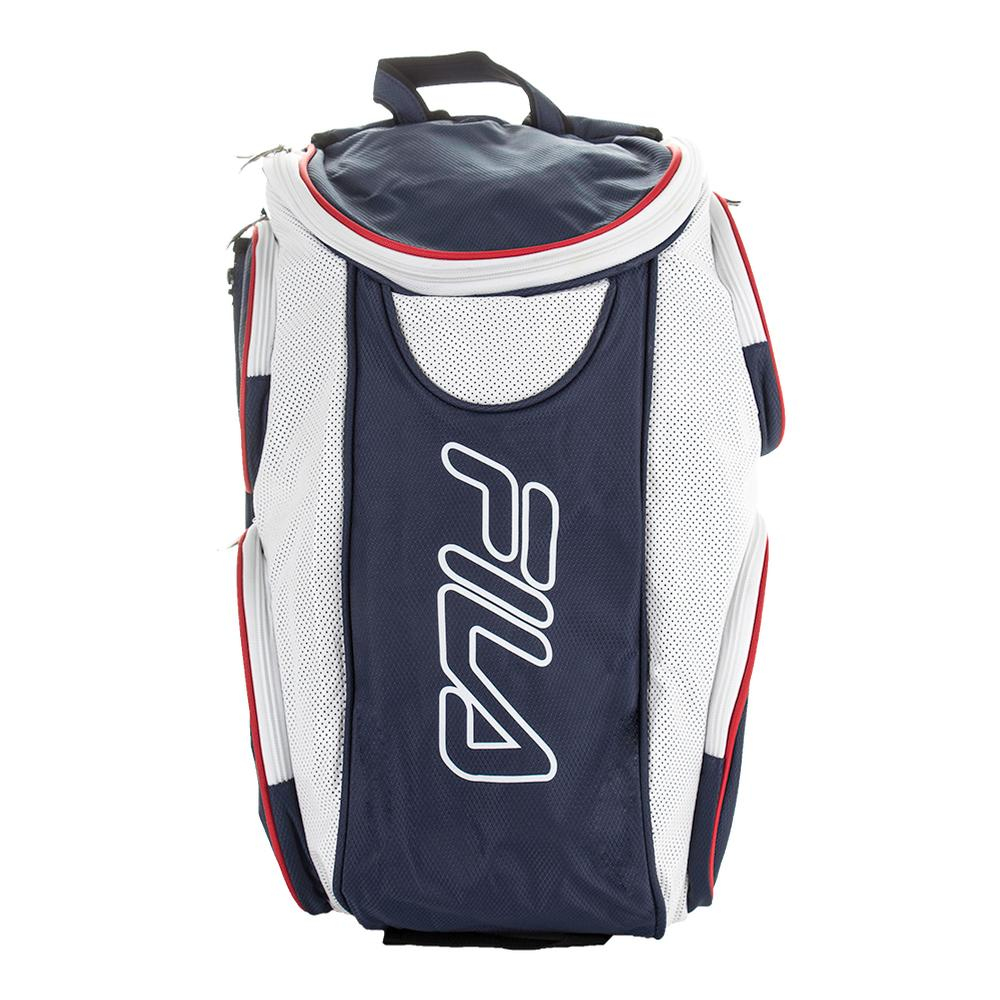 Tennis Backpack Navy And White