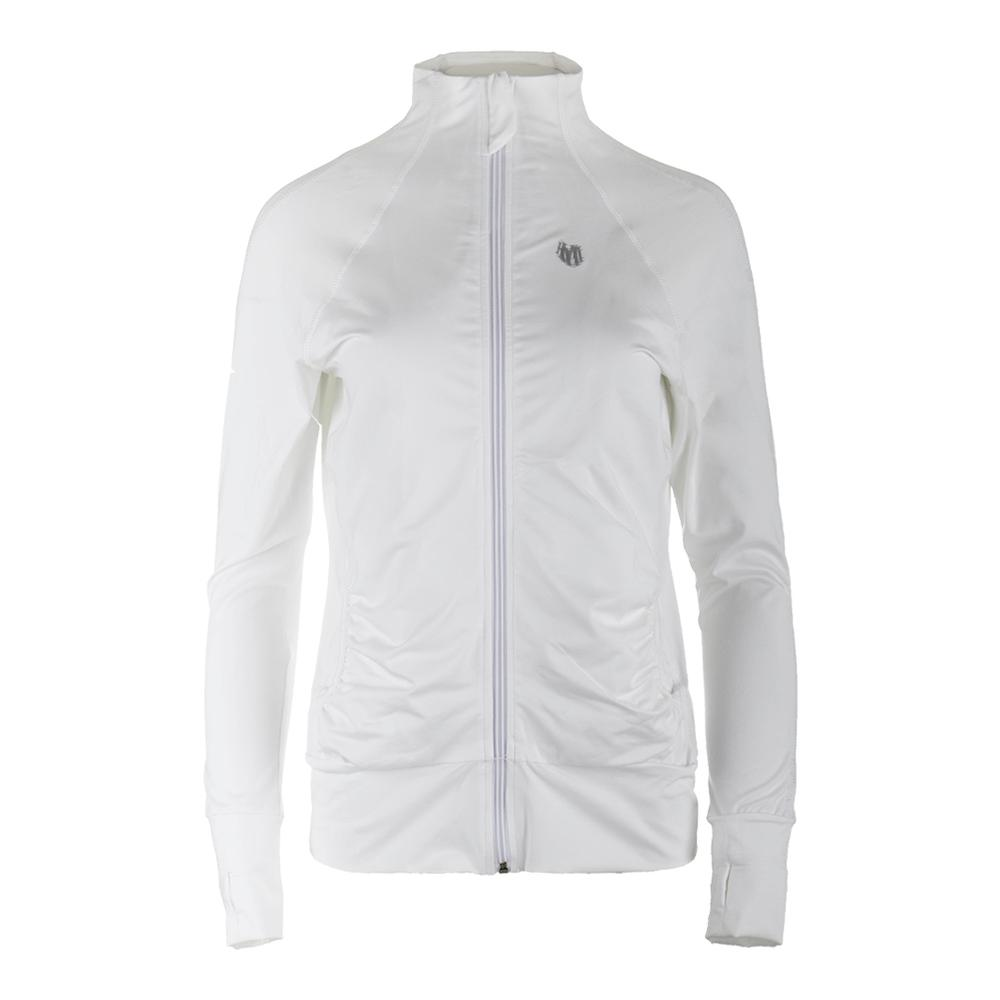 Women's Elite Tennis Jacket White