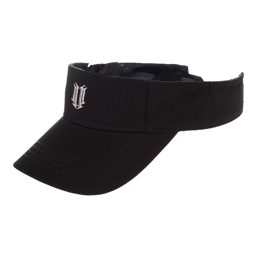 Women's Tennis Visor Black