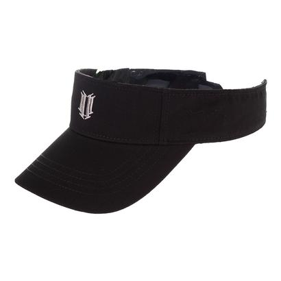 Women`s Tennis Visor Black