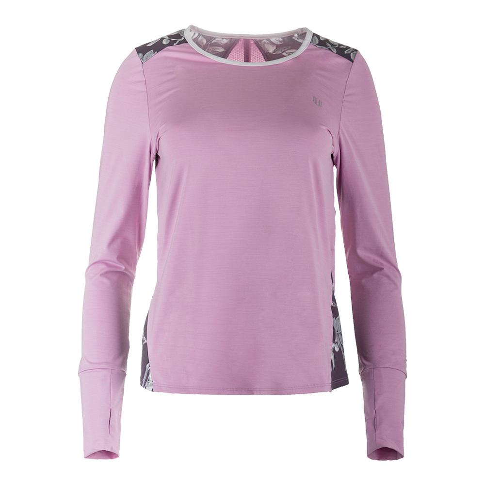 Women's Xtreme Long Sleeve Tennis Top Pink