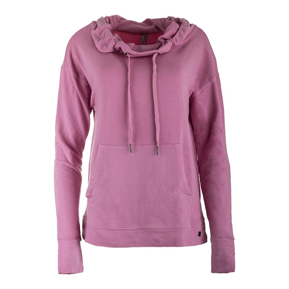 Women's Relay Tennis Cowl Neck Cashmere Rose