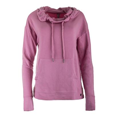 Women`s Relay Tennis Cowl Neck Cashmere Rose