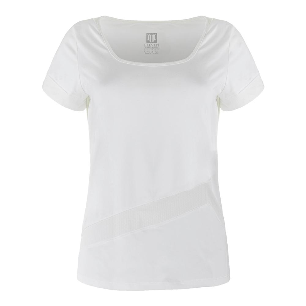Women's Unity Tennis Tee White