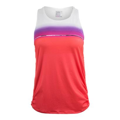 Women`s Fresh Cinch Tennis Tank Flame