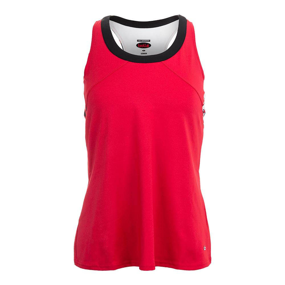 Women's Dominique Racerback Tennis Tank Bolle Red