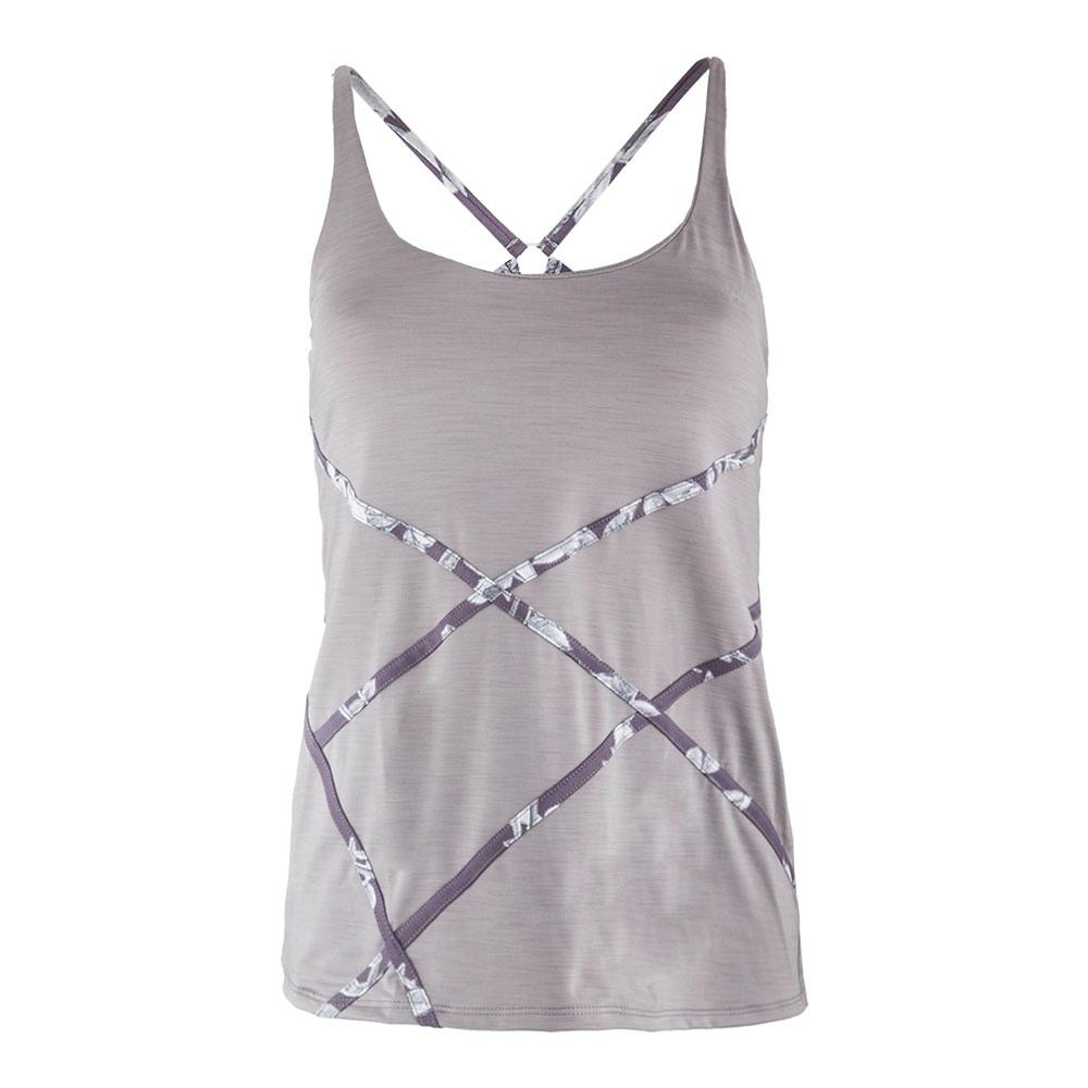 Women's Trapeze Tennis Tank Frost Gray