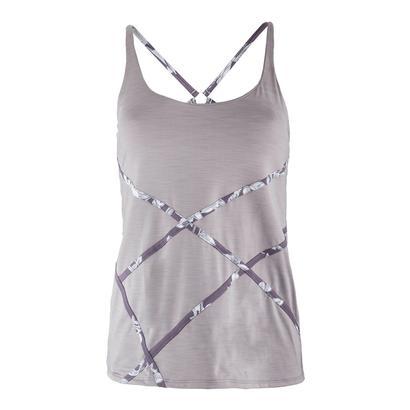 Women`s Trapeze Tennis Tank Frost Gray