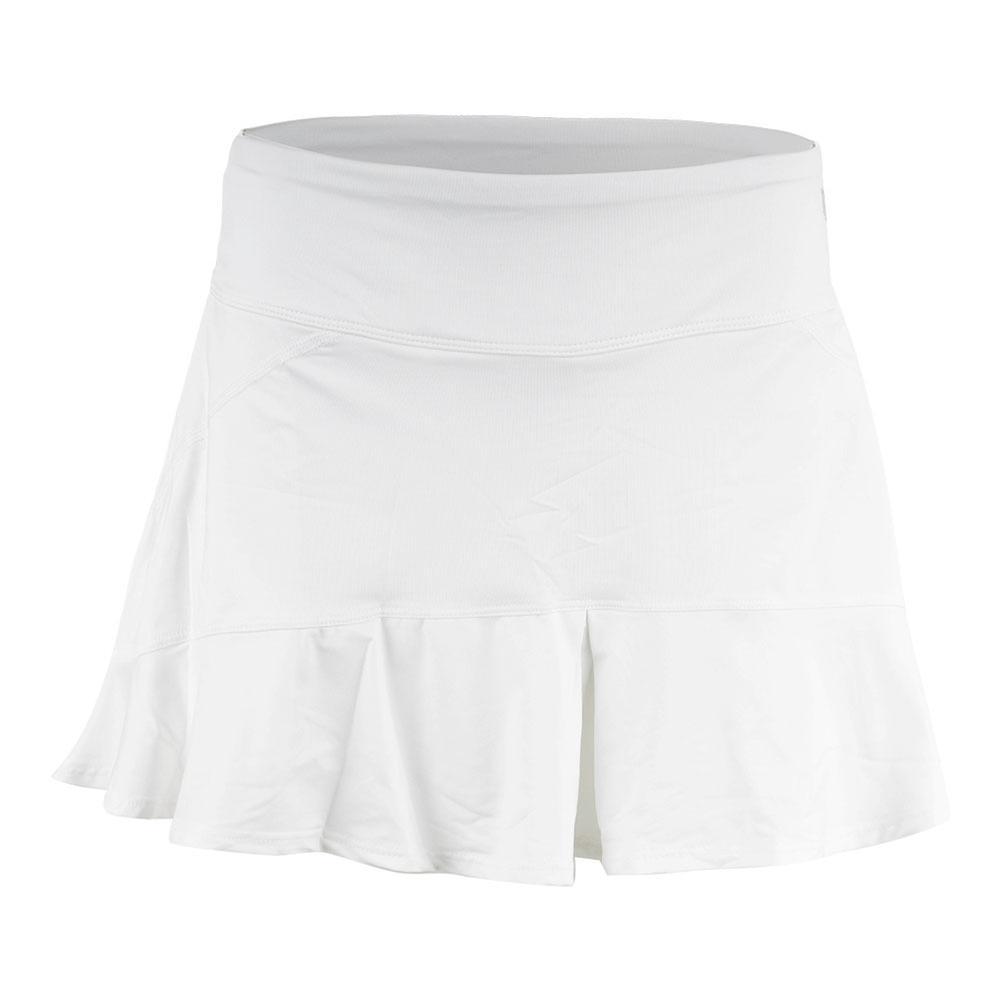 Women's Jammin 13 Inch Tennis Skort White