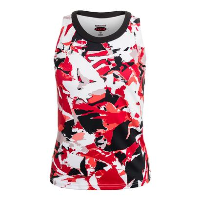 Women`s Dominique Graphic Tennis Tank Print