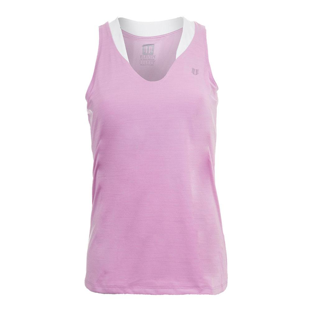 Women's Love Tennis Tank Pink