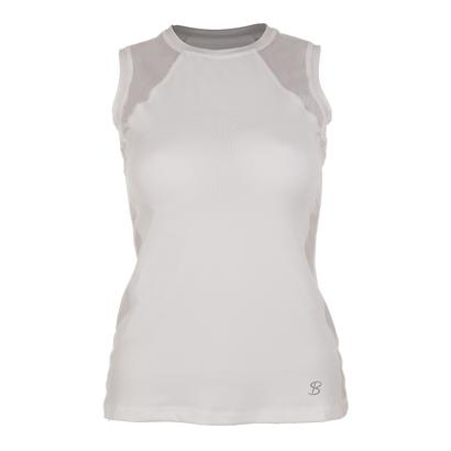 Women`s Classic Sleeveless Tennis Top White