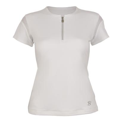 Women`s Classic Short Sleeve Tennis Top White