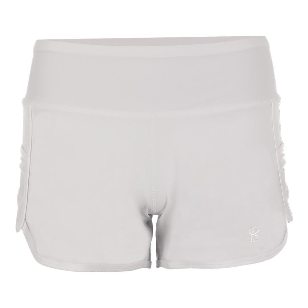 Women's Tennis Short White
