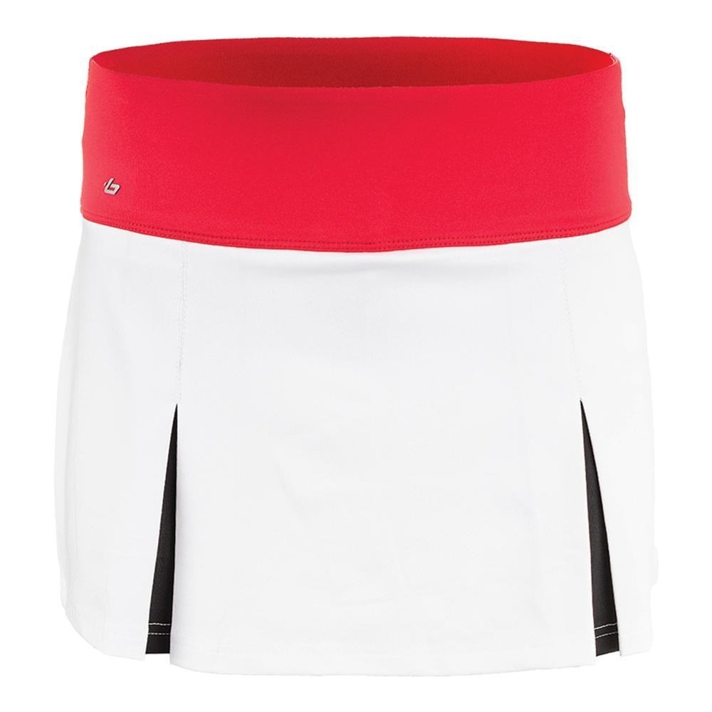 Women's Dominique 13.5 Inch Tennis Skort