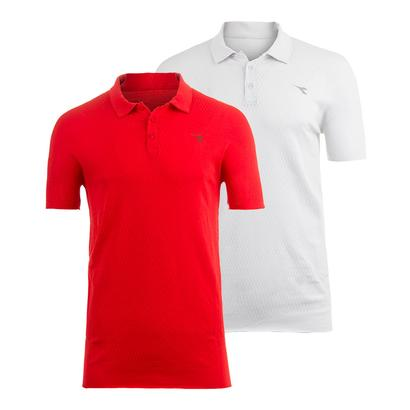 Men`s Seamless Tennis Polo