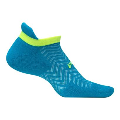 High Performance Cushion No Show Tab Tennis Socks Hawaiian Blue