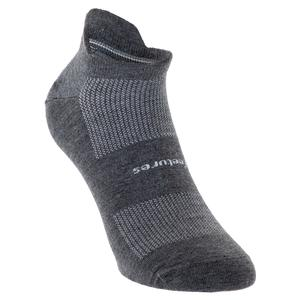 High Performance Ultra Light No Show Tab Socks Heather Gray