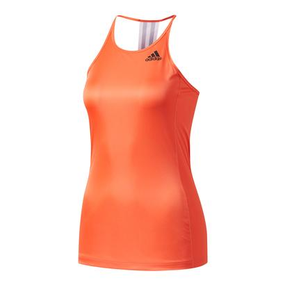 Women`s Designed-2-Move Step Up Tank Easy Coral