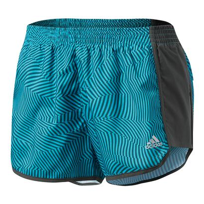 Women`s 100M Dash Woven Short Energy Blue