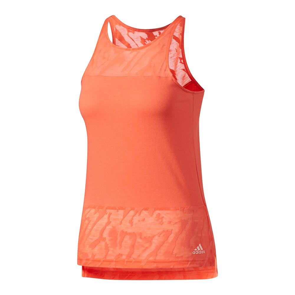 Women's Ikat Tank Easy Coral