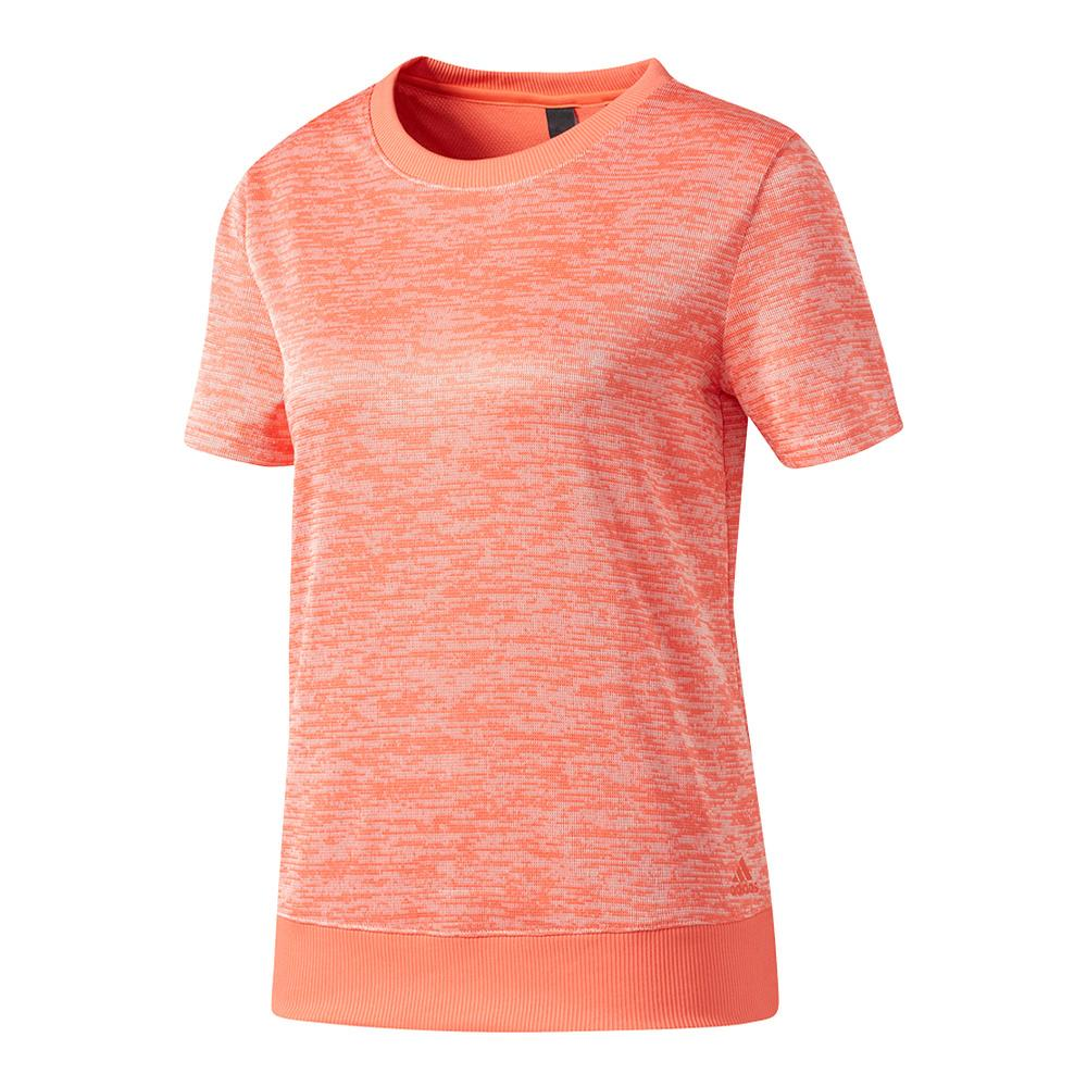 Women's Sport- 2- Street Short Sleeve Top Easy Coral