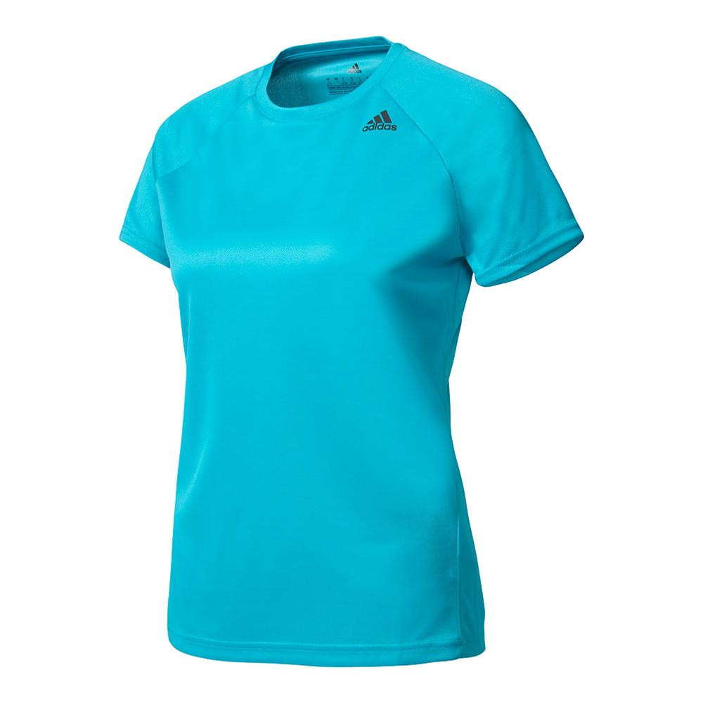 Women's Designed- 2- Move Tee Energy Blue
