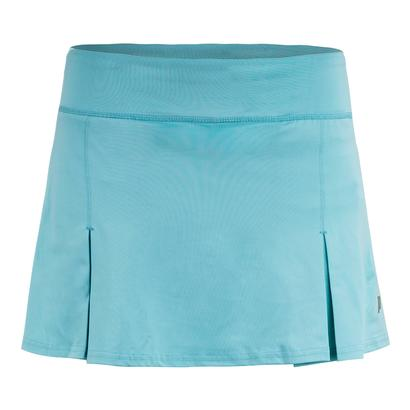 Women`s 11 Inch Poly Spand Knit Tennis Skort Blue Radiance