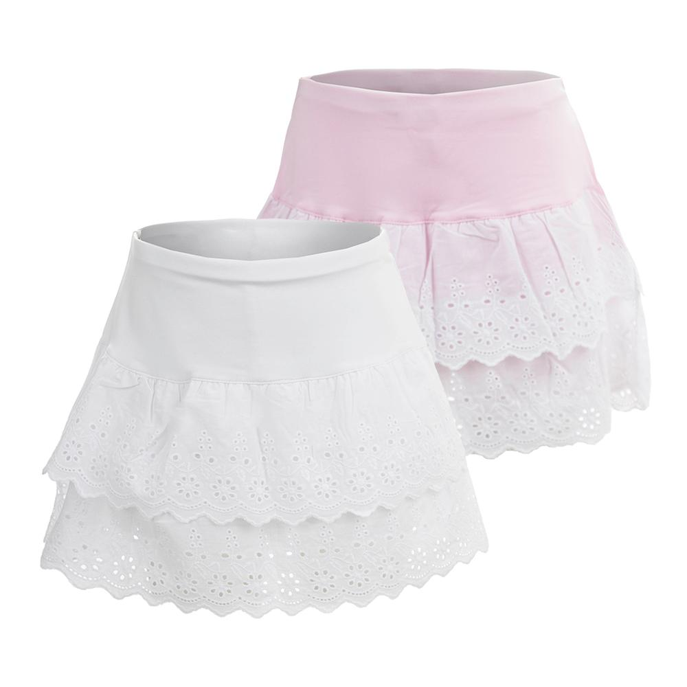 Girls ` Lace Tennis Skort