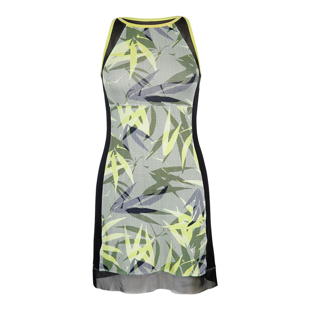Women's Sanja Tennis Dress Intrigue Chartreuse