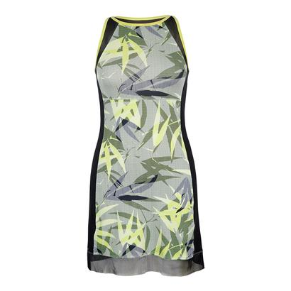 Women`s Sanja Tennis Dress Intrigue Chartreuse