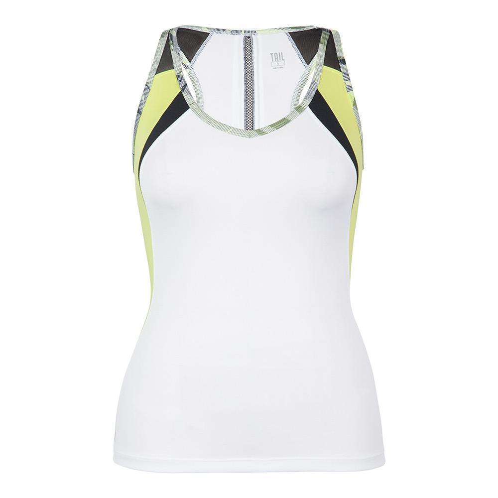Women's Natalie Tennis Tank White