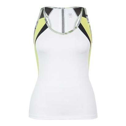 Women`s Natalie Tennis Tank White