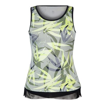 Women`s Patricia Tennis Tank Intrigue Chartreuse