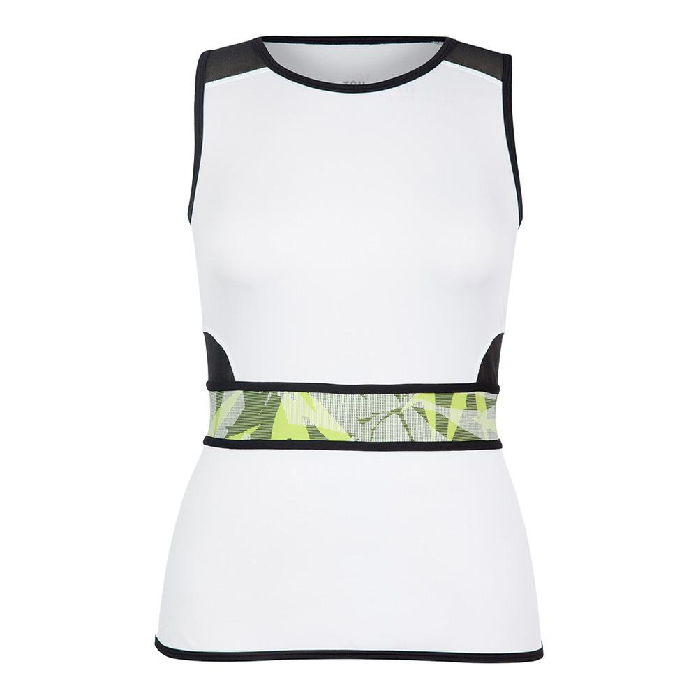 Women's Sandra Tennis Tank White
