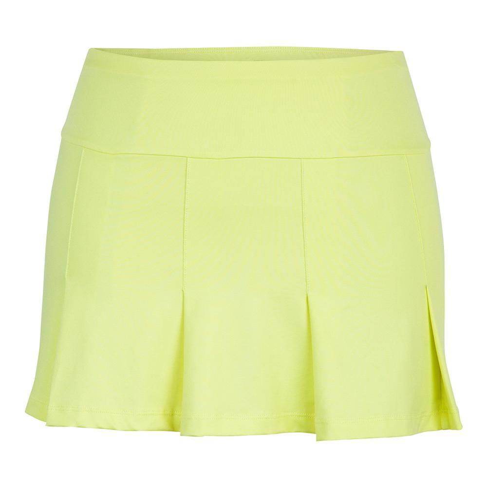 Women's Emeline 13.5 Inch Tennis Skort Chartreuse