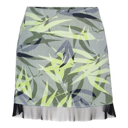 Women`s Mora 16.5 Inch Tennis Skort Intrigue Chartreuse