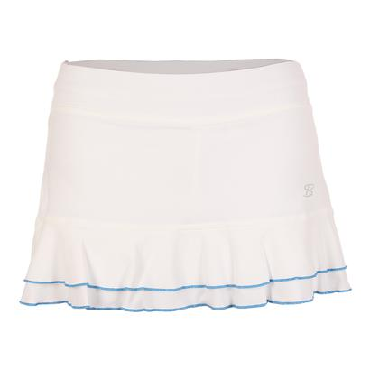 Women`s 12 Inch Tennis Skort White