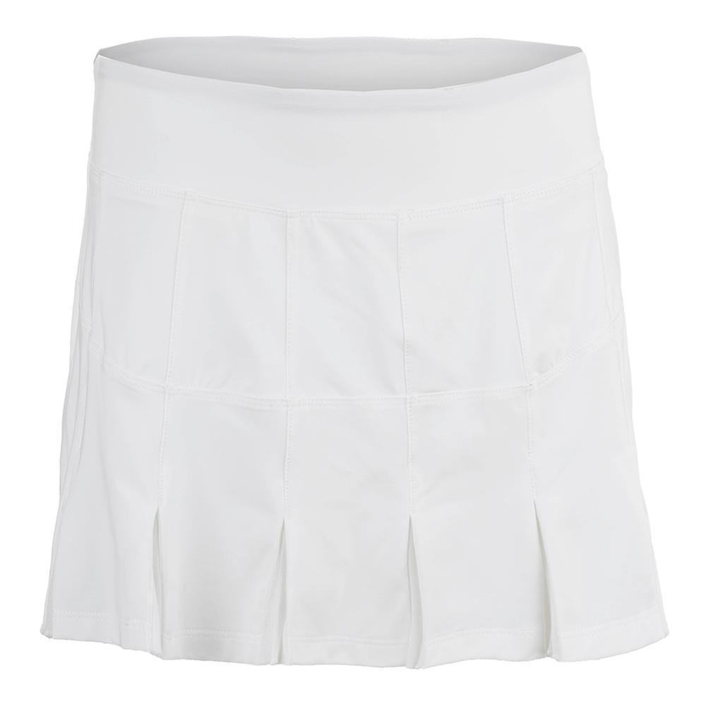Women's Lawn Tennis Skort White