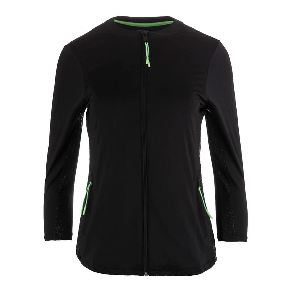 Women's Spotlight Tennis Jacket Black