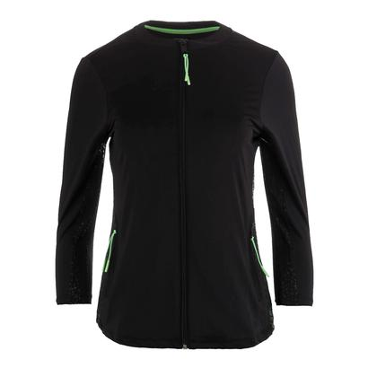 Women`s Spotlight Tennis Jacket Black