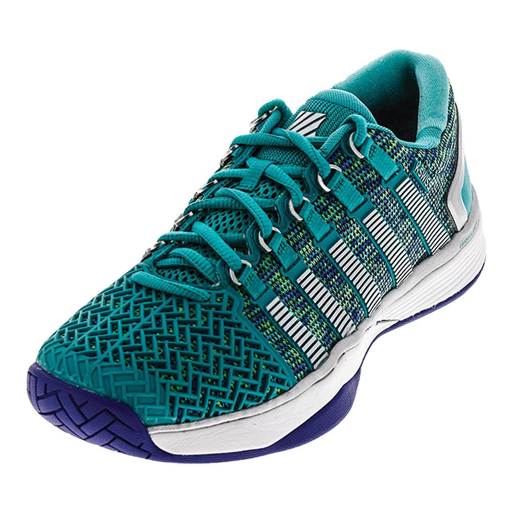 Women's Hypercourt 2.0 Tennis Shoes Columbia And Pigment Blue