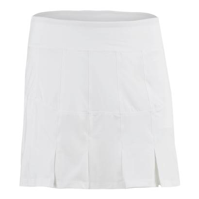 Women`s Lawn Long Tennis Skort White