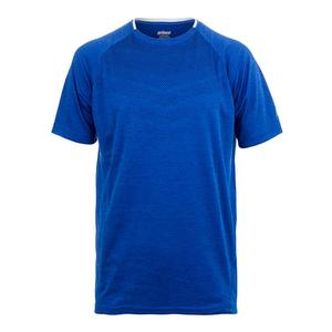 Men`s Heathered Box Mesh Tennis Crew