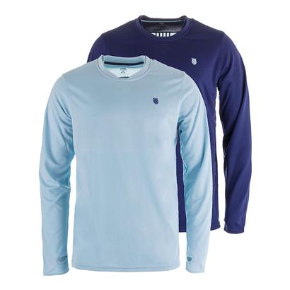 Men`s Long Sleeve Tennis Crew