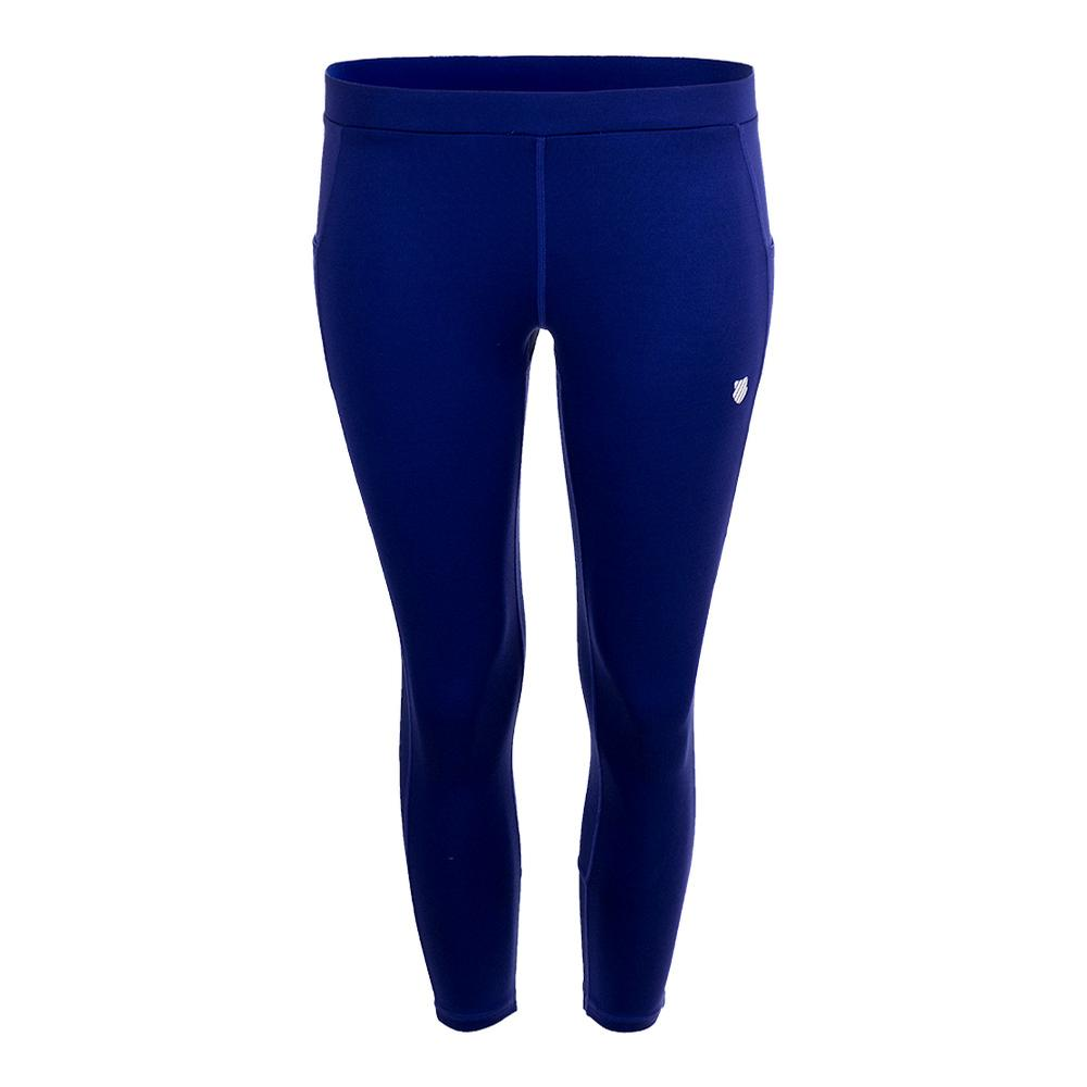 Women's Tennis Capri Tight Deep Ultramarine
