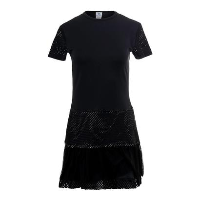 Women`s Ashley Tennis Dress Black and Nude