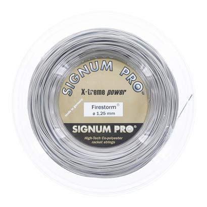 Firestorm Tennis String Reel Gold Metallic