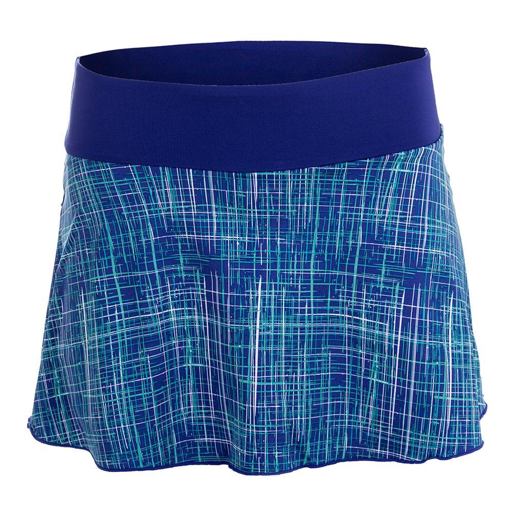 Women's Deuce Tennis Skirt Columbian Print