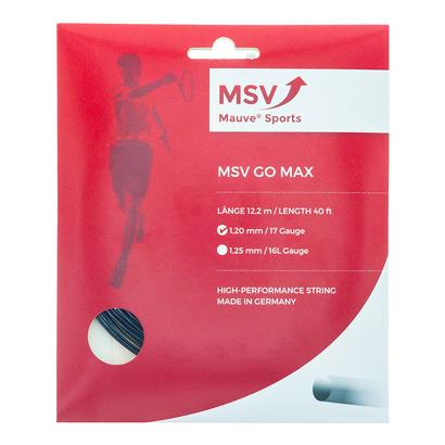 Go Max Tennis String Black
